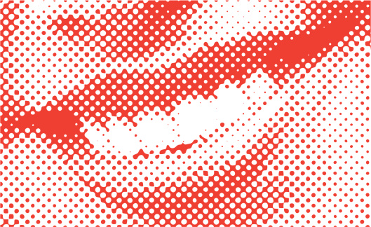 Halftone Vector Smile