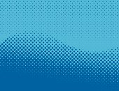 abstract form in a halftone pattern, can be used as a background or overlaid on to other images