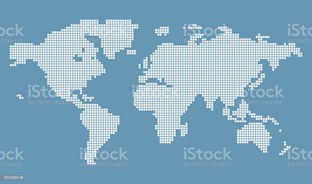 Halftone world map stock vector art more images of asia 515702416 halftone world map royalty free halftone world map stock vector art amp more images gumiabroncs Image collections