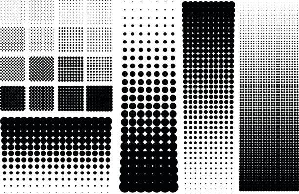 halbtöne punkte - groß stock-grafiken, -clipart, -cartoons und -symbole