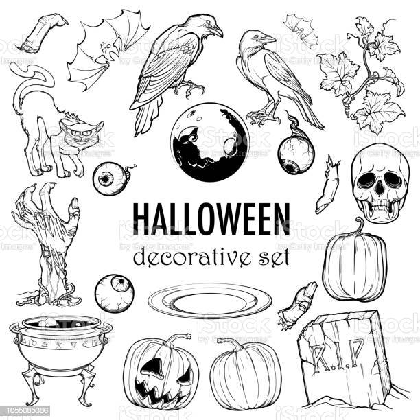 Hallooween elements designers set 21 original elements isolated on vector id1055085386?b=1&k=6&m=1055085386&s=612x612&h=xlqpsgt7wgm0nwnta3t4bropnpadva3pwgwjzbefpzq=