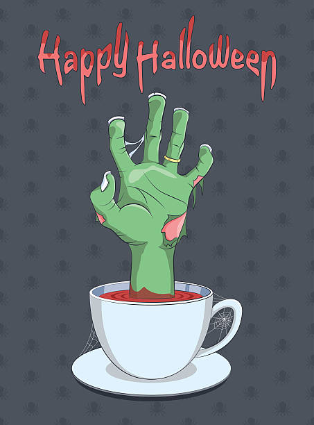 Royalty Free Halloween Coffee Clip Art, Vector Images ...