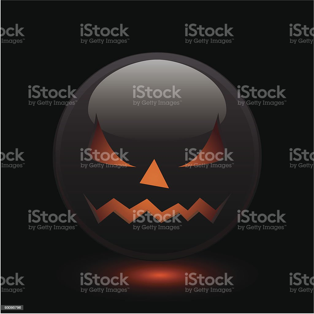 Halloween angry icon royalty-free halloween angry icon stock vector art & more images of abstract