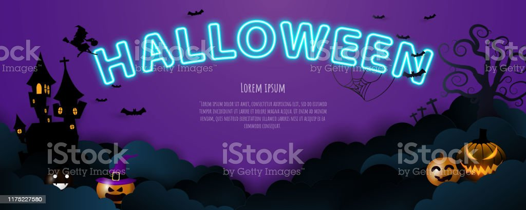 Halloween 2020 Concept Designs Halloween Background Concept Design Party Stock Illustration