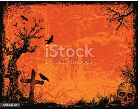 Halloween Background Frame