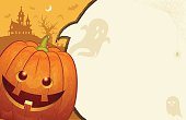 "This illustration is a background of the text for ""Halloween""."