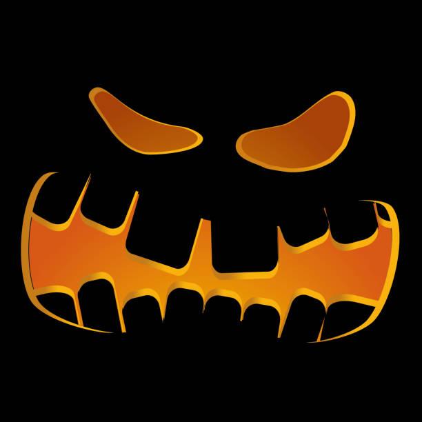 Halloween background, part 4 vector art illustration