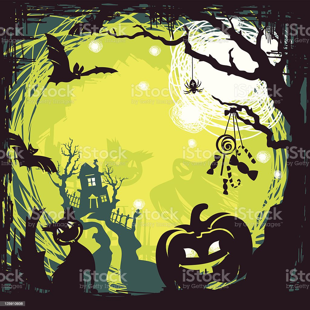 Halloween background royalty-free halloween background stock vector art & more images of abstract
