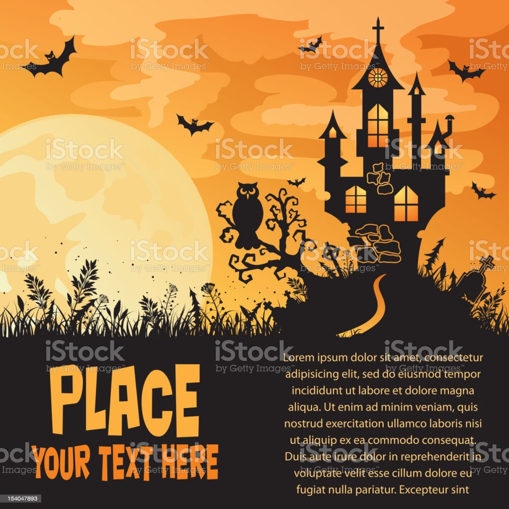 Halloween background royalty-free halloween background stock vector art & more images of animal markings