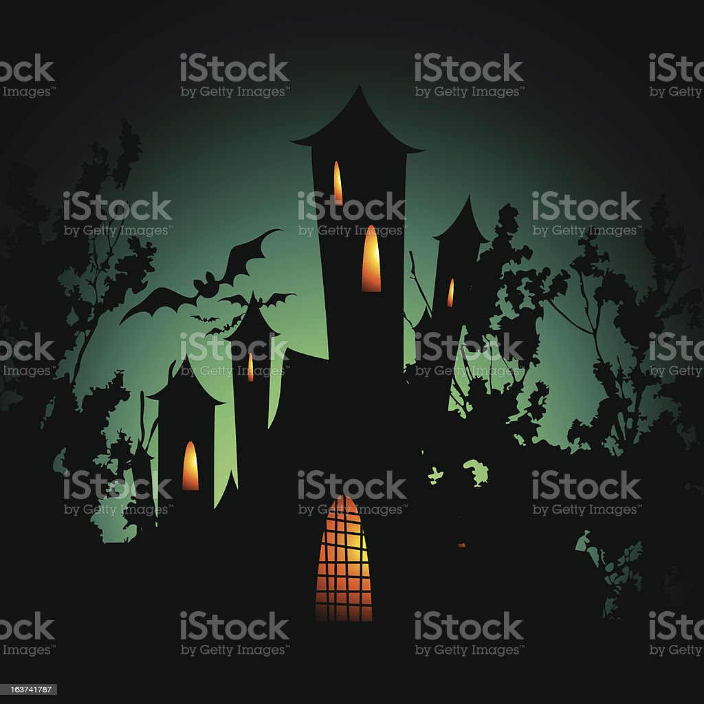 Halloween background royalty-free halloween background stock vector art & more images of bat - animal
