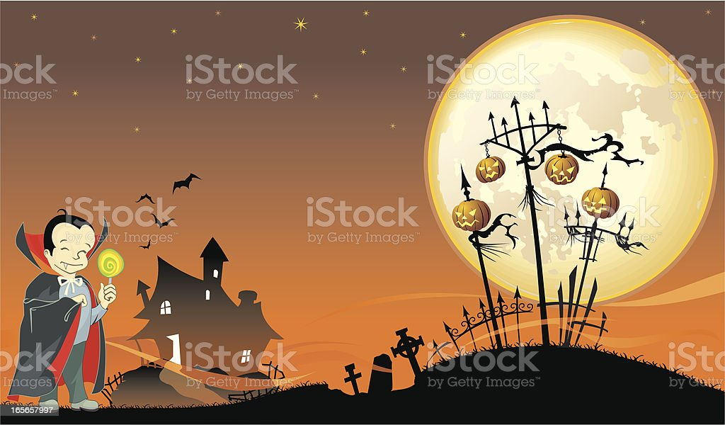 Halloween Background royalty-free halloween background stock vector art & more images of back lit
