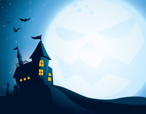 Royalty Free Halloween Background Clip Art, Vector Images ...
