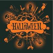 halloween background , eps 10