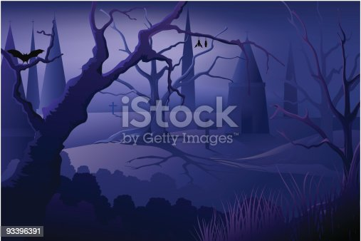 istock Halloween Background 93396391