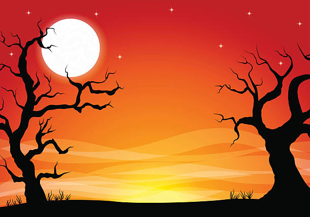 Best Halloween Background Illustrations, Royalty-Free ...