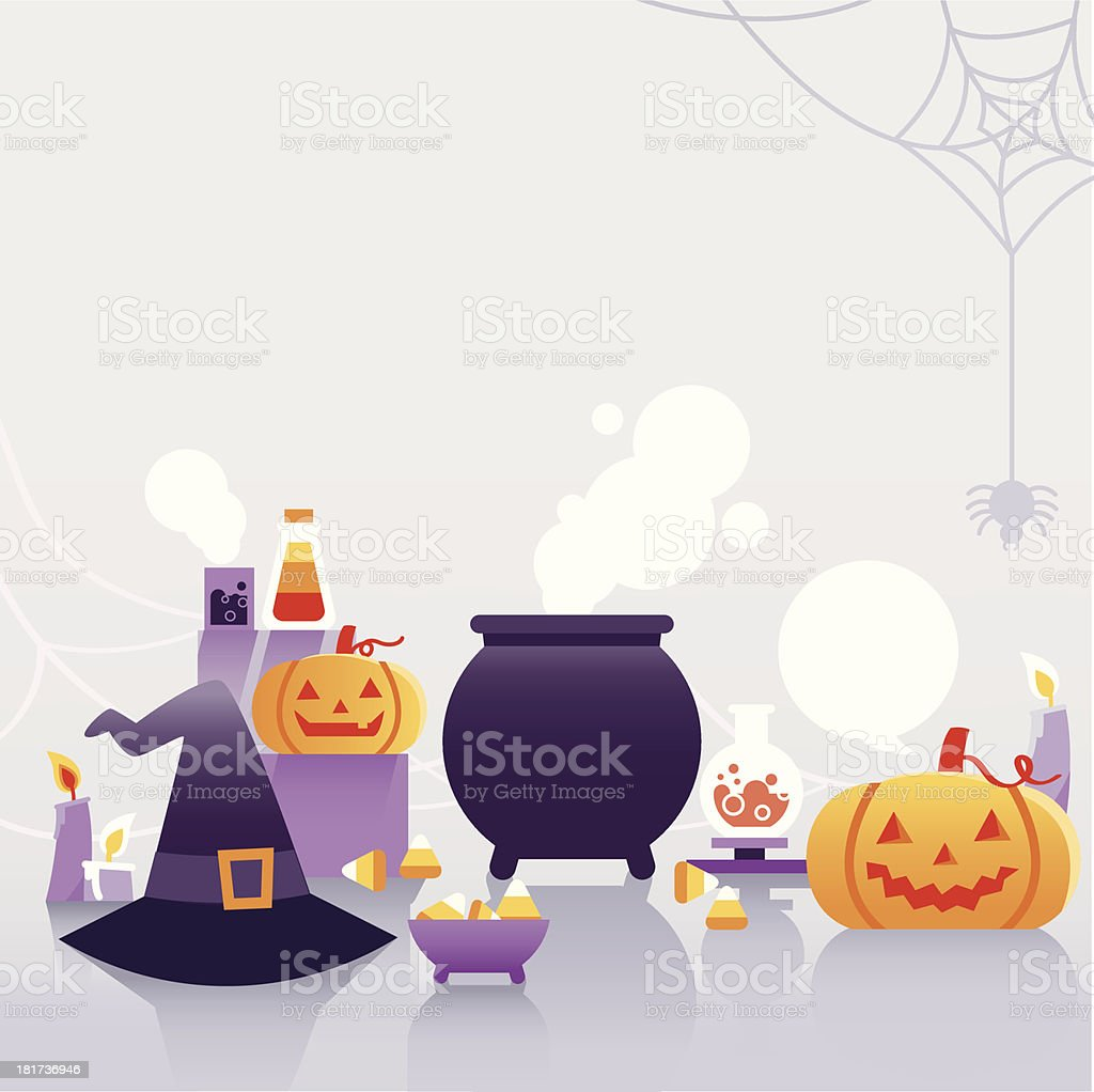 halloween background with  pumpkin royalty-free halloween background with pumpkin stock vector art & more images of backgrounds