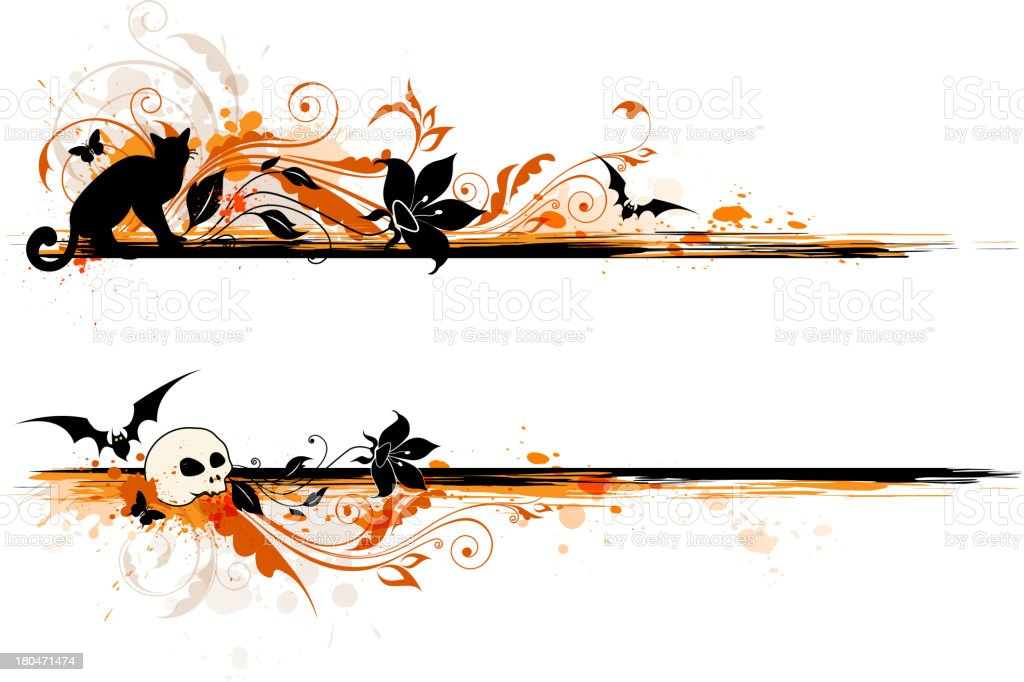 Halloween banner royalty-free halloween banner stock vector art & more images of autumn