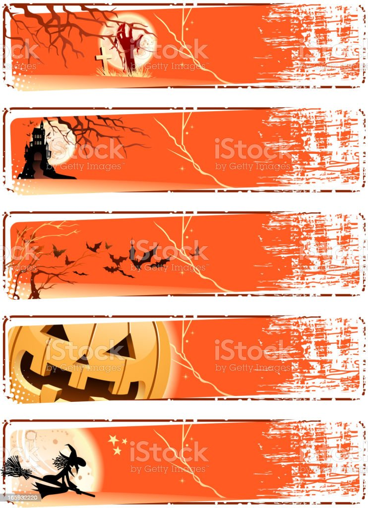 halloween banners royalty-free halloween banners stock vector art & more images of arts culture and entertainment