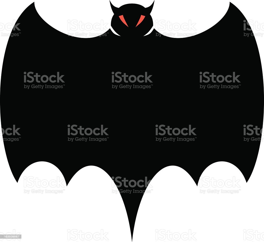 Halloween Bat Deep royalty-free halloween bat deep stock vector art & more images of bat - animal