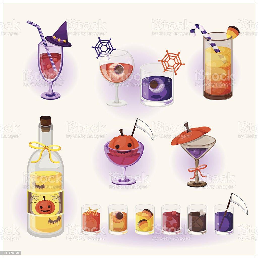 Halloween Getränke Stock Vektor Art und mehr Bilder von ...