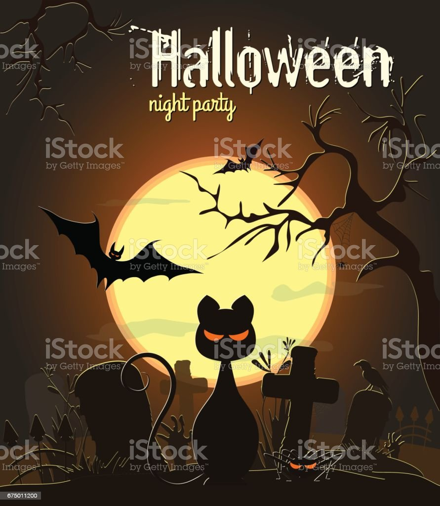 Halloween black cat and other characters royalty-free halloween black cat and other characters stock vector art & more images of abstract