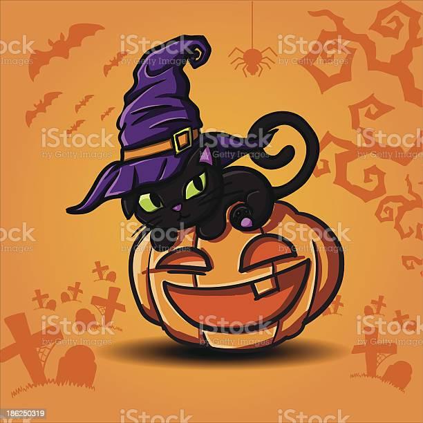 Halloween black cat and pumpkin vector vector id186250319?b=1&k=6&m=186250319&s=612x612&h= 0spwr5iq46sd55w5dzqekciysjrzixevbd1rsya pe=