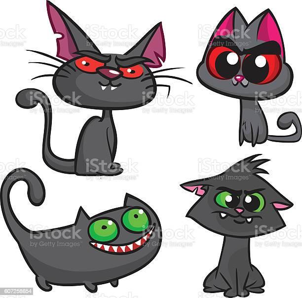 Halloween black cats set vector witch cats icons vector id607258654?b=1&k=6&m=607258654&s=612x612&h=xusdiratwbqzcusrnctmg71kw6lyoh4cnojz8cbi46w=