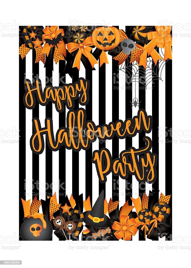Halloween brochure design template vector. royaltyfri halloween brochure design template vector-vektorgrafik och fler bilder på abstrakt
