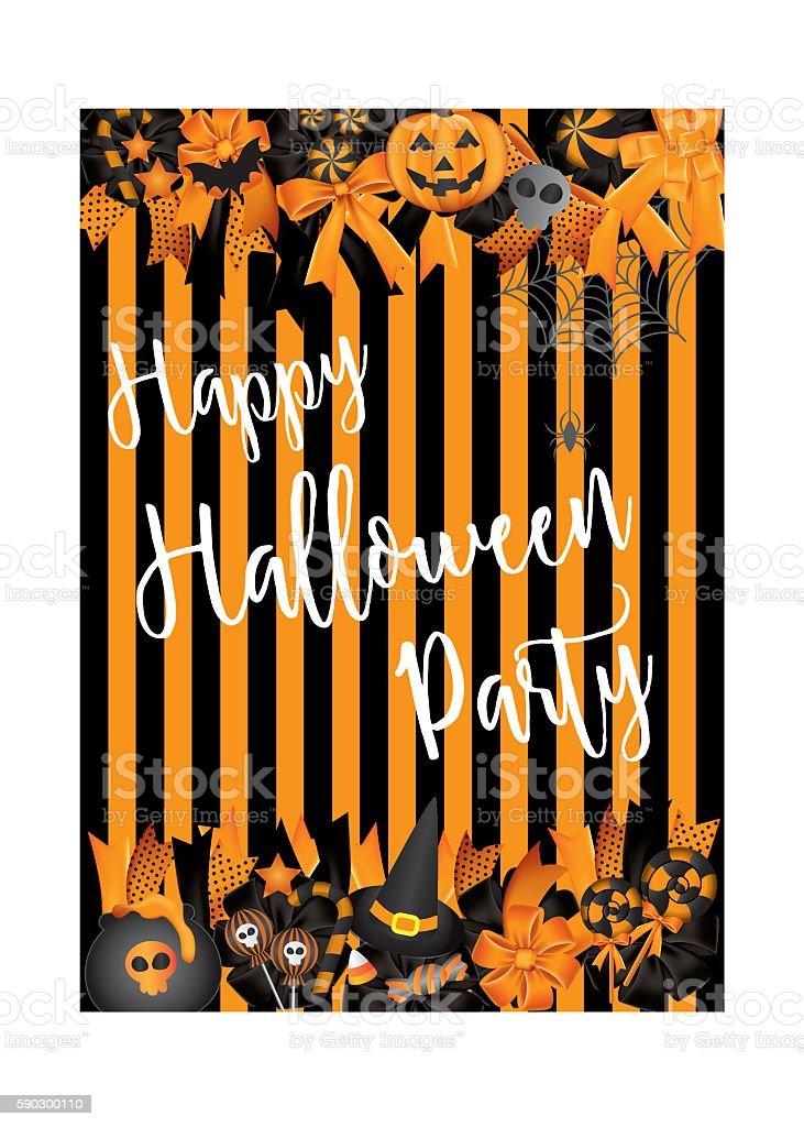 Halloween brochure design template vector. royaltyfri halloween brochure design template vector-vektorgrafik och fler bilder på abstrakt