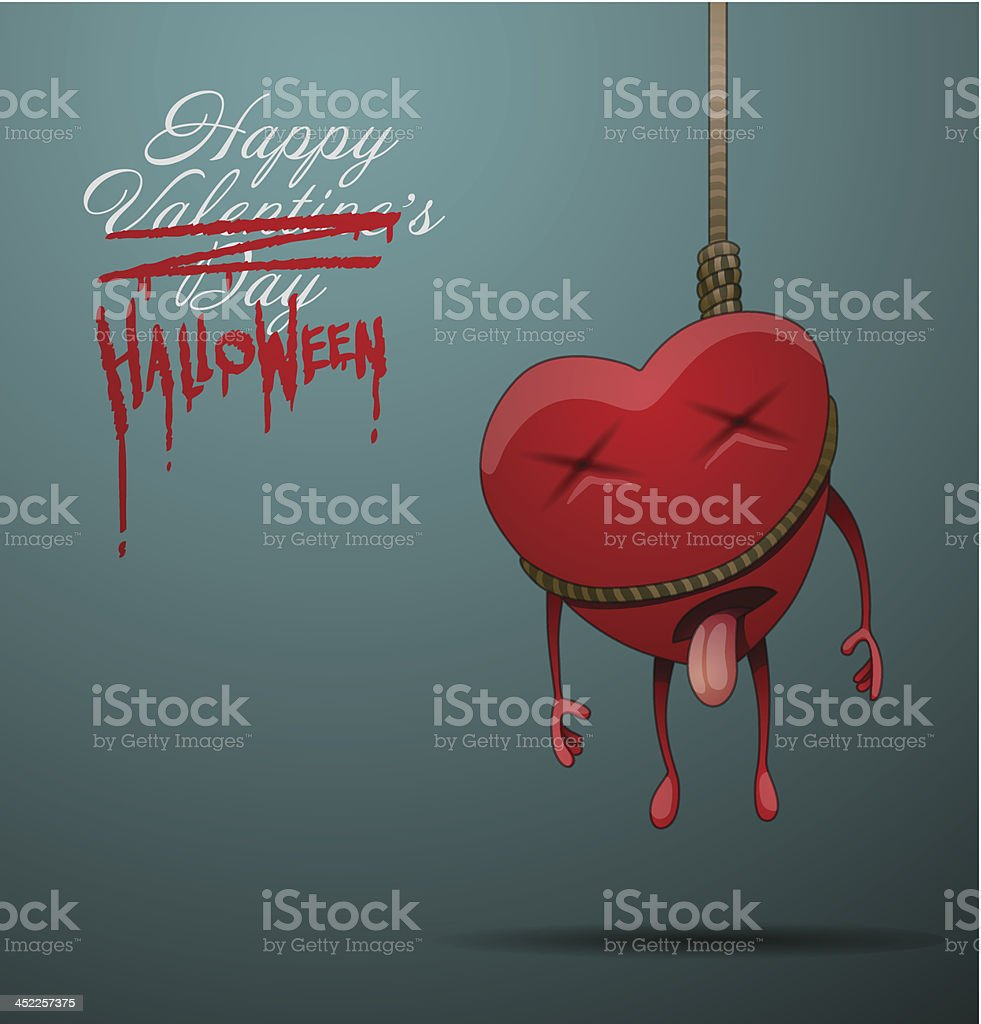 Halloween card heart royalty-free halloween card heart stock vector art & more images of autumn