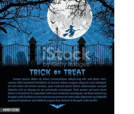 istock Halloween Card 493910290