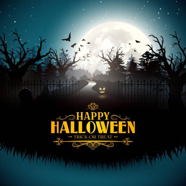 Halloween-Karte  – Vektorgrafik