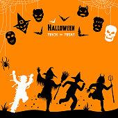 Halloween Children Trick Or Treat