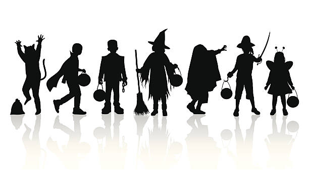 Best Trick Or Treat Illustrations, Royalty-Free Vector ...