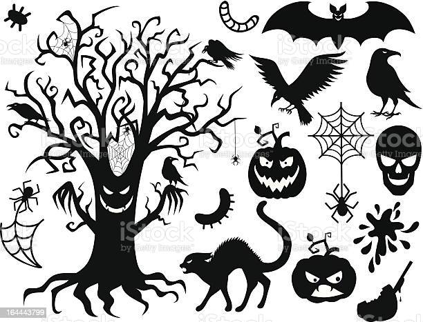 Halloween collection of black and white icons vector id164443799?b=1&k=6&m=164443799&s=612x612&h=ztmuhwoguzekkngxjxg9qn1aqsmww6uvpvuimnkcyji=