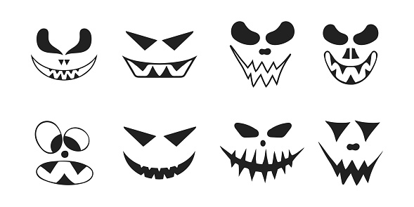Halloween Collection Of Jack O Lantern Spooky Smiling