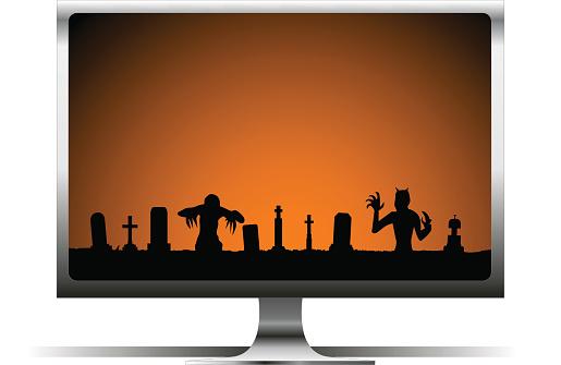Halloween Computer