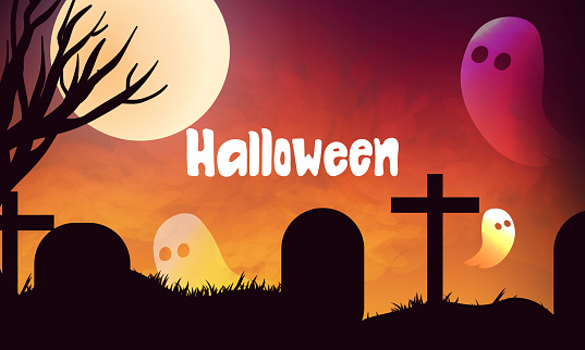 halloween concept background