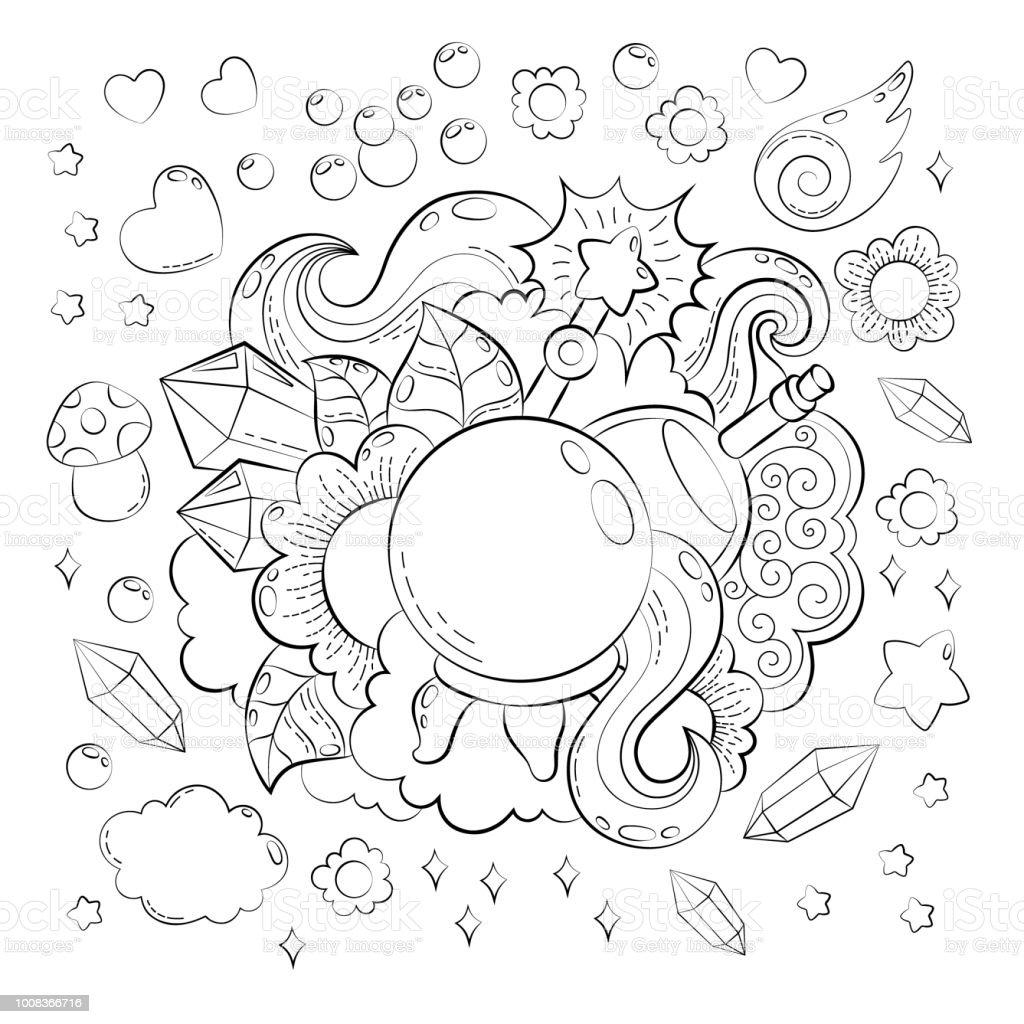 Concept Dhalloween Dessin Anime Tire De Main Doodle