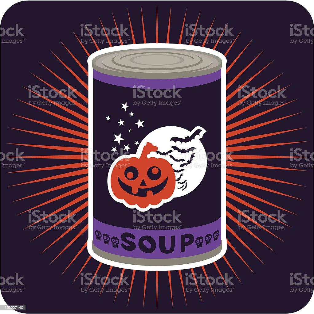Halloween condensed vector art illustration