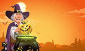 istock Halloween Cooking 1342195943