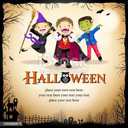 istock Halloween Costume Party 1055866870
