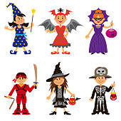 Halloween Costumes for Cute Cartoon Kids