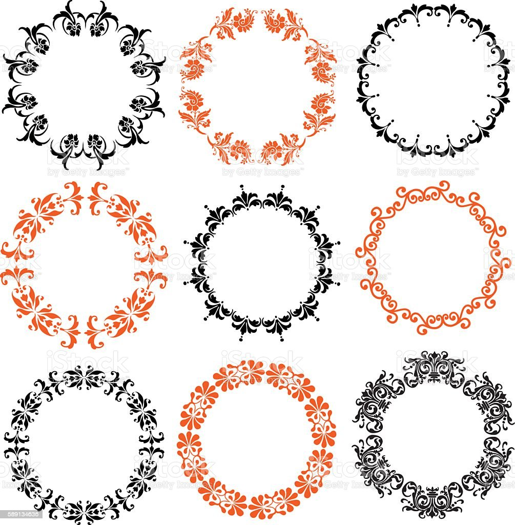 Halloween damask frames stock vector art more images of autumn halloween damask frames royalty free halloween damask frames stock vector art amp more images jeuxipadfo Gallery