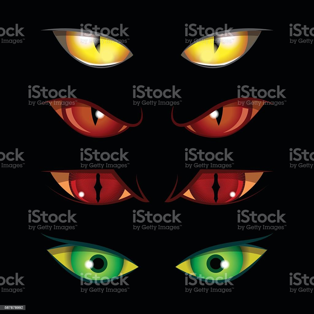 Halloween Eyes Stock Illustration Download Image Now Istock