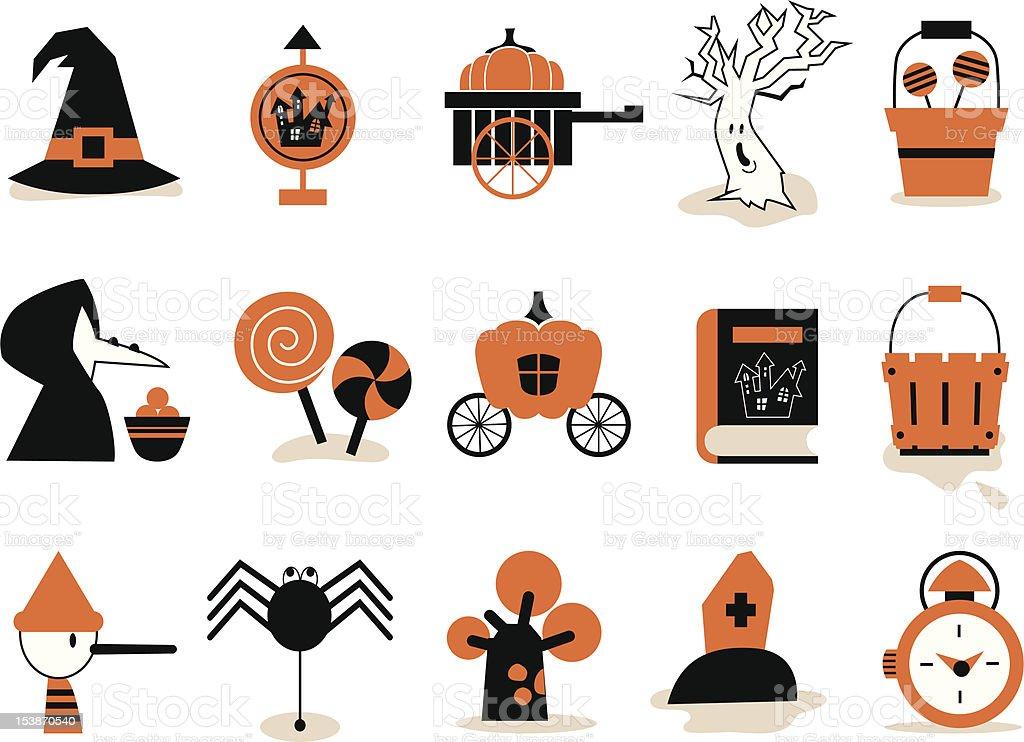 Halloween & Fairy tale icon royalty-free stock vector art