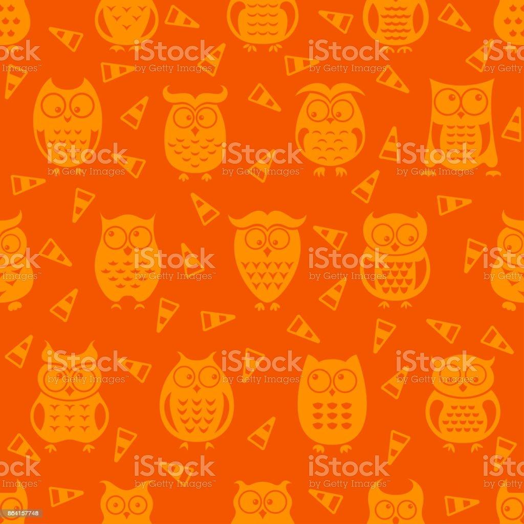 Halloween festive seamless royalty-free halloween festive seamless stock vector art & more images of autumn