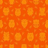 Halloween festive seamless pattern