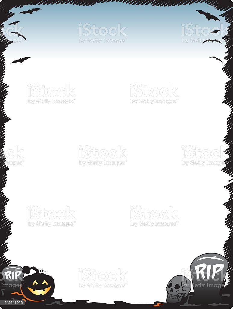 Free Halloween Borders Clip Art Page Borders and Vector