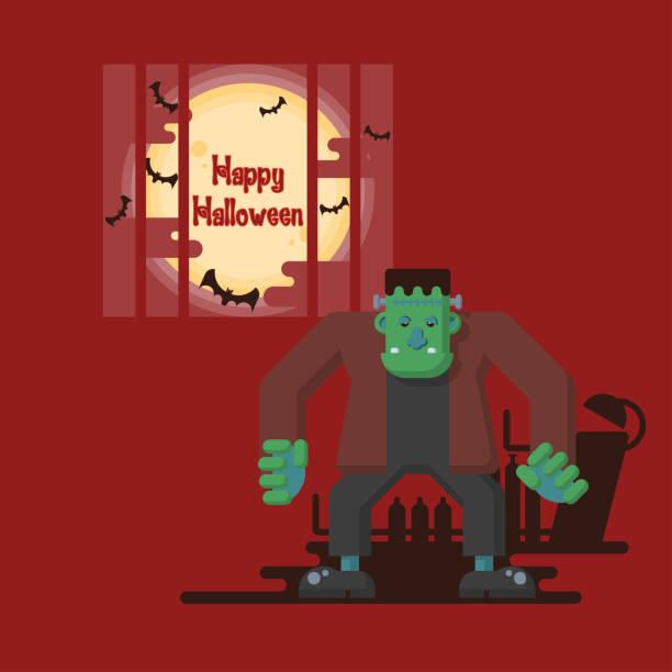 Frankenstein Lab Illustrations, Royalty-Free Vector ...